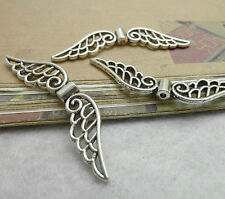 20pc Tibetan Silver Angel wings Spacer Beads Craft Jewellery Wholesale PJ179