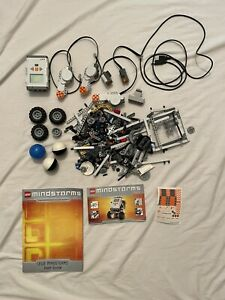 Lego Mindstorms #8527 Set Working Processor Pieces Parts Instructions Lot