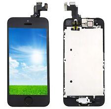 Noir Pour Apple iPhone 5S Kit COMPLET ÉCRAN LCD CHASSIS VITRE TACTILE Neuf LKJH
