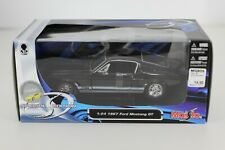 DIE CAST 1/24 MAISTO 1967 FORD MUSTANG GT BLACK