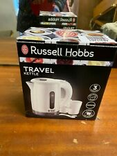 Russell Hobbs 23840 White Plastic Travel Kettle Boxed
