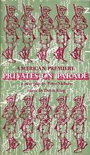 "Jim Dale ""PRIVATES ON PARADE"" Peter Nichols 1979 American Premiere Playbill"