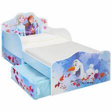 Disney Frozen 2 Toddler Bed with Storage Bedroom Girls