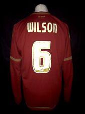 Nottingham Forest 2015-16 Home Vintage Football Shirt #6 Wilson -Fair Condition