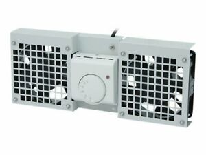 LogiLink Rack fan tray with cooling fan, thermostat AC 220/240 V light FAW101G