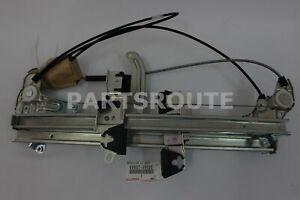 Toyota 4Runner 2003-2009 Genuine Back Door Power Window Regulator 69807-35020