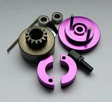 1/10 RC Nitro Clutch Flywheel Kit 2 Shoe Purple
