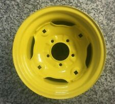 New John Deere Rim 9 1/2 x 12 Wheel 5/4 Ag Yellow F223 1219193223 12x9.50