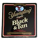 Vintage YUENGLING Brewing Co. Black & Tan Beer Metal Tacker Sign POTTSVILLE PA