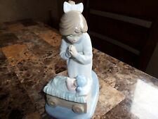 Rare Beautiful 1990 Nao Lladro Figurine (Sharing A Prayer) #01124 Made In Spain