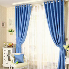 1Panel New Country Star Living Room Bedroom Printing Curtain Blind Black Out 02