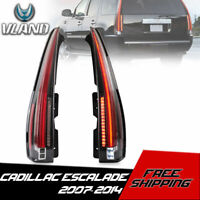 VLAND LED Clear Tail Lights Rear Lamps For 2007-2014 Cadillac Escalade/ESV