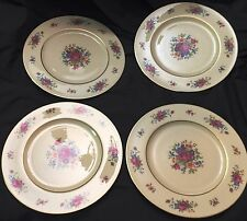 Vintage Lot of 4 Dinner Plates By Lenox Pattern Lenox Rose J-300
