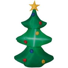 Inflatable Christmas Tree Airblown 3.6 Ft Tall Pre-lit  Gemmy Yard Decor NEW