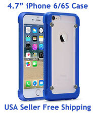 "SUPCASE For iPhone 6/6S 4.7"" Unicorn Beetle Hybrid Protective Case Blue Frost"
