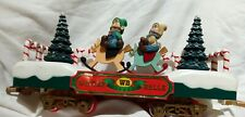 New Bright Winter Belle Holiday Express Replacement Santa Holiday Train flat car