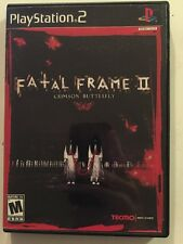 Fatal Frame II: Crimson Butterfly Sony PlayStation 2 Complete Free Shipping!
