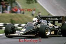 Elio De Angelis JPS Lotus 95T British Grand Prix 1984 Photograph 2