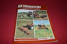 Hesston Rotary Disc Mower & Hay Rakes Dealer's Brochure DCPA2