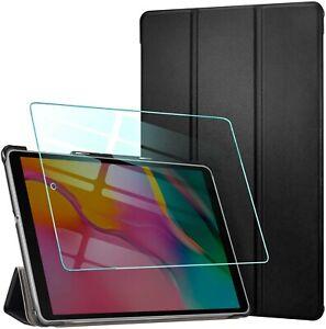 AROYI Coque + Verre Trempé pour Samsung Galaxy Tab AHousse Etui de Protection