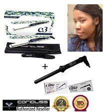 Corioliss C3 Bloom Titanium Flat Iron/Hair Straightener + 18MM Curling Wand