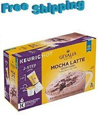 Gevalia Kaffe Mocha Latte Coffee Keurig k-cups
