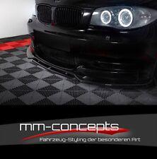 CUP Spoilerlippe für 1er BMW E82 FL M Paket M1 Frontspoiler Spoilerschwert Lippe