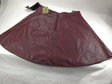 IRIS Skirt Rear Zipper Detail Size Medium New With Tags 100% Polyester