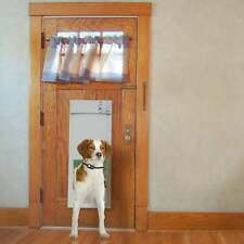 Px-1 Fully Automatic Power Pet Door for Dogs and Cats White