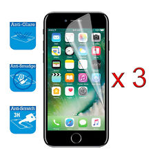 iPhone 7 4-7 inch Screen Protector Cover Guard Film Foil x 3