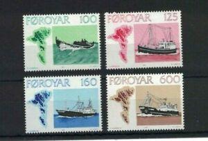 MROW16) Faroe Islands 1977 The Faroese Fishing Industry MUH