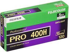 5 Rolls FUJIFILM FUJI PRO 400H Professional Color Negative Film 120 Roll from JP