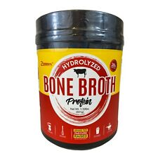 Zammex Nutrition Hydrolyzed BONE BROTH Protein Powder 1.32 Lbs