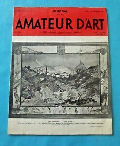 Journal de l'amateur d'Art n°299 1962 Alexis Gritchenko Pays-Basque, scène