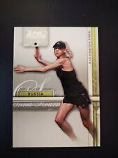 Anna Kournikova of Russia Ace Authentic New Tennis Trading Card No 7 (Silver)