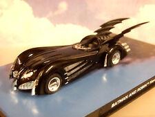 Estupendo EAGLEMOSS BATMAN AUTOMOBILIA 1/43 DE METAL Batmóvil and robin