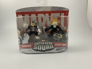 Marvel Super Hero Squad - Punisher / Ghost Rider New in Box Rare Find