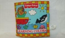 Fisher Price Learning Colors Cloth Activity Book