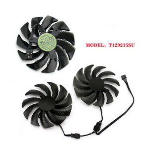T129215SU/PLD09210S12HH Cooling Fan for Gigabyte GTX 1060 1070 Repair Parts A2UK