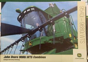 John Deere 9000i WTS Combine Series Combine Brochure