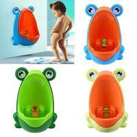 Frog Kids Potty Toilet Training Children Urinal For Boys Pee Trainer Bathroom US