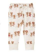 Gymboree NWT Baby Boy Girl 3-6 M Joy Hope Love Bear Pants Holiday