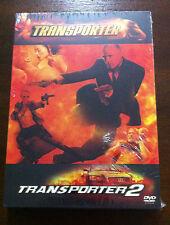 TRANSPORTER - TRANSPORTER 2 - 2 DVD. NEW,SEALED - NUEVA, EMBALADA JASON STATHAM