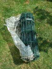 One roll of Gardman arched top PVC coated  wire fencing 0.6m/24ins x 10 metres