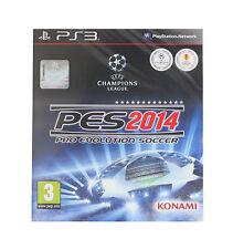 Pro Evolution Soccer 2014 (Sony PlayStation 3, 2013)
