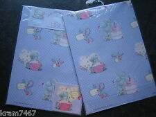 """ME TO YOU """"HAPPY BIRTHDAY"""" GIFT WRAPPING PAPER & TAGS"""