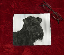 Kerry Blue Terrier Microfibre Glasses Camera Lens Phone Screen Cleaning Cloth