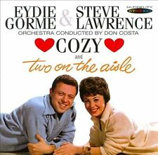 Cozy/Two on the Aisle by Eydie Gorme/Steve Lawrence (CD, Jan-2013, Sepia Records)