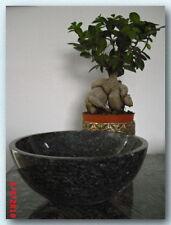 Waschbecken, Granit, Blue Pearl, D30x13cm, poliert, NEU!!