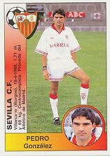 N°371 PEDRO GONZALEZ # SEVILLA.CF STICKER CROMO PANINI LIGA 1995 ESPANA